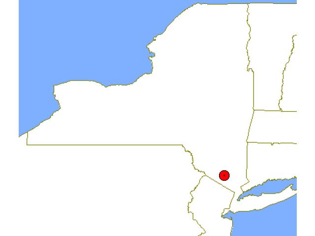 Kiryas Joel, NY locator map