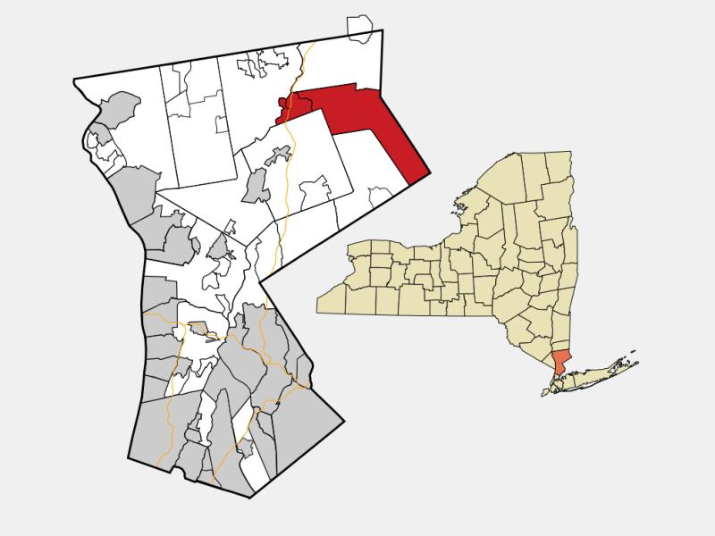 Lewisboro locator map