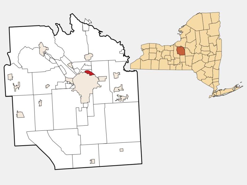 Lyncourt location map