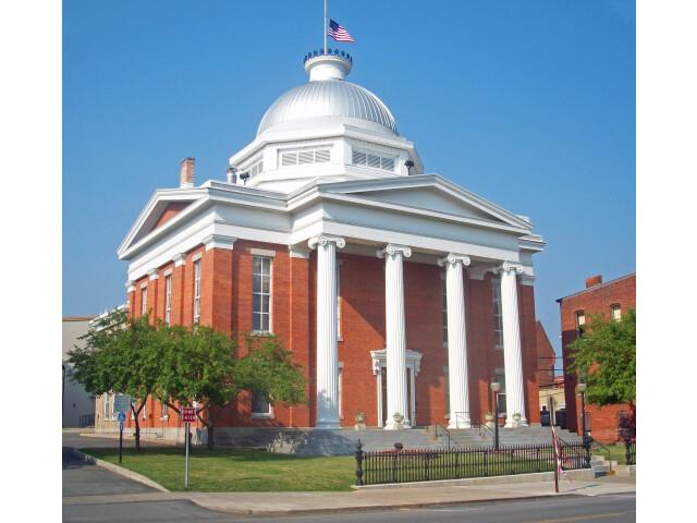 Wayne County Courthouse  Lyons  NY image