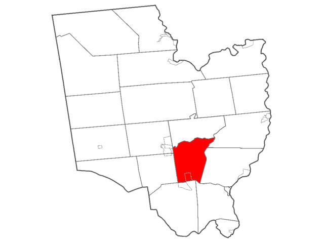 Malta, NY locator map