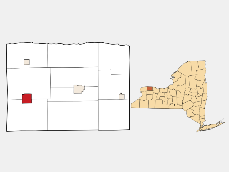 Medina locator map