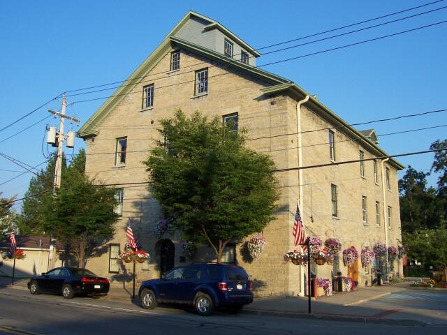 Mendon  New York town hall image