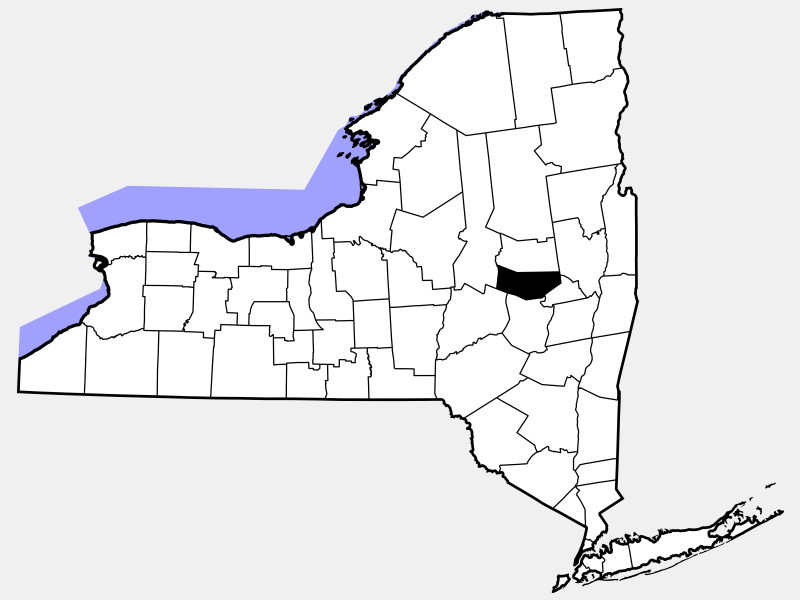 Montgomery County, NY locator map