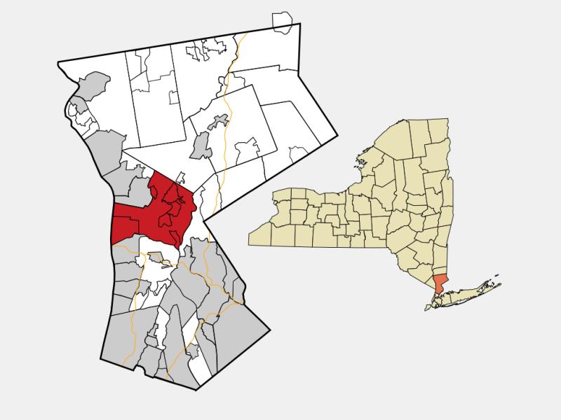 Mount Pleasant, NY locator map