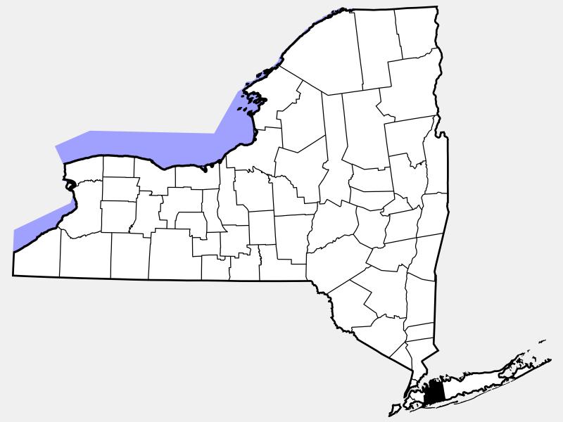 Nassau County, NY locator map