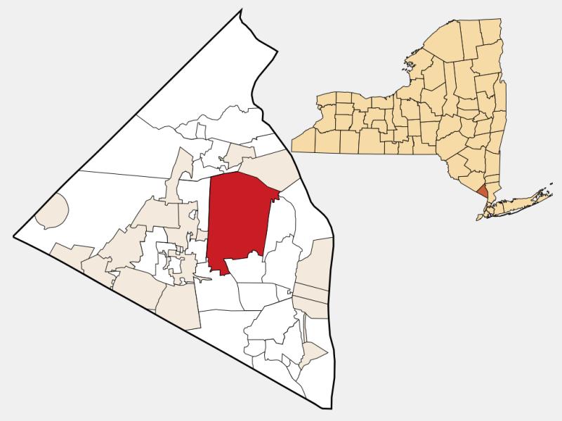 New City locator map