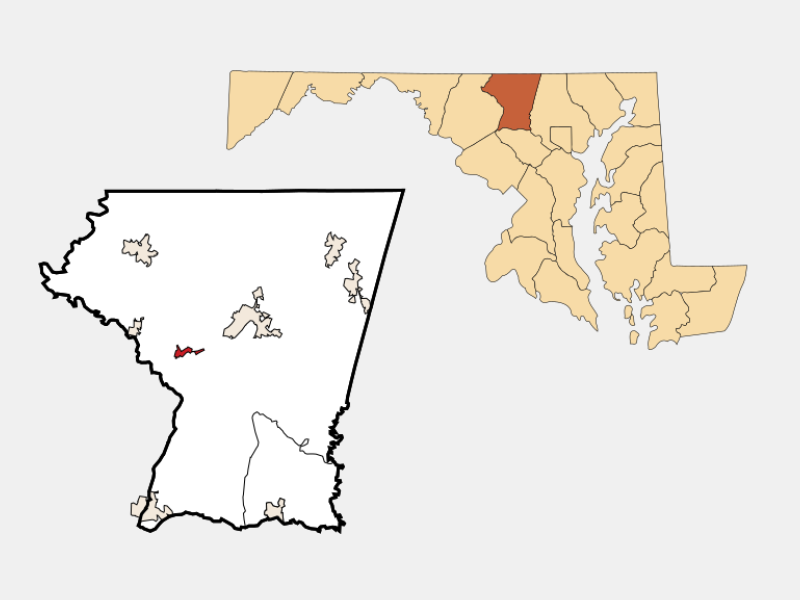 New Windsor, NY locator map