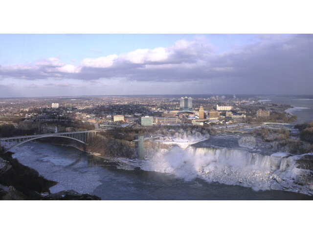 Niagara Falls  New York from Skylon Tower image