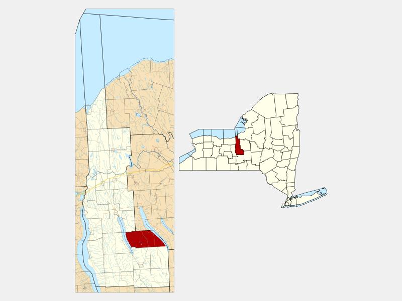 Niles location map