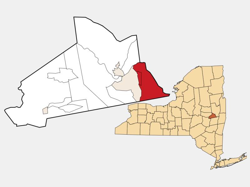 Niskayuna, NY locator map