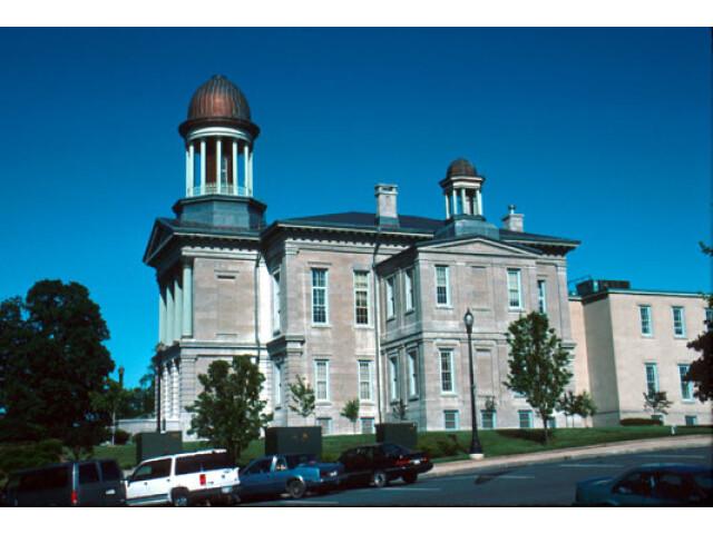 Oswego County Courthouse  'Built 1860'  Oswego  New York image