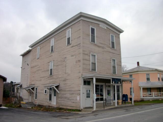 South Otselic Historic District-Dew Drop Building Nov 10 image