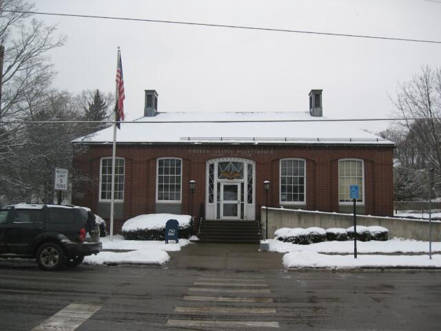 US Post Office-Oxford NY Dec 09 image