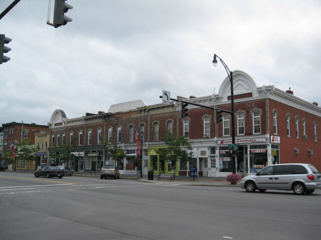East Main Street Commercial Historic District Palmyra NY Aug 09 image