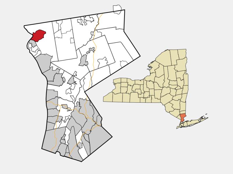 Peekskill locator map