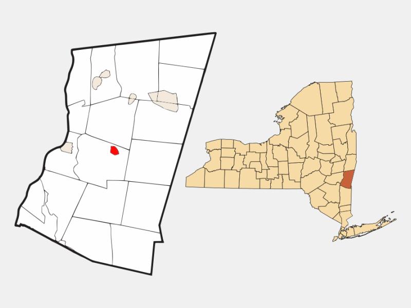 Philmont locator map