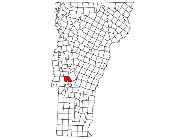 Pittsford locator map