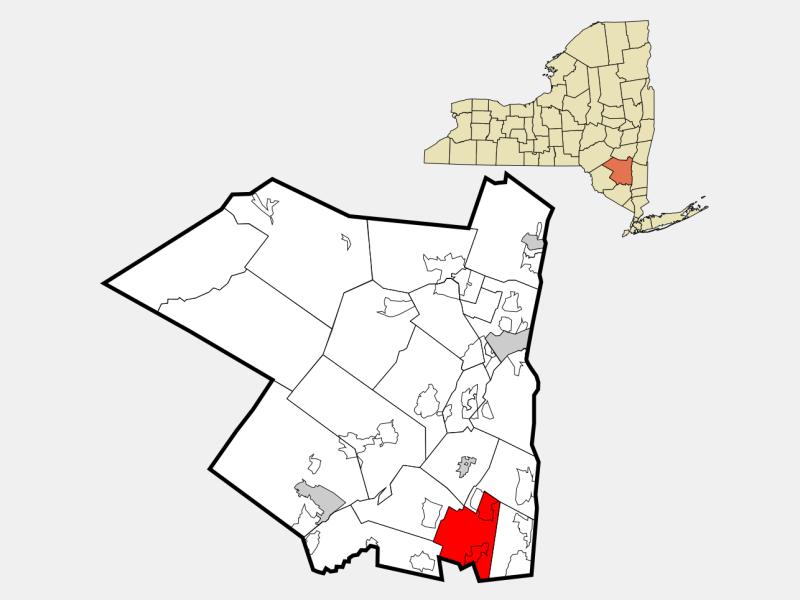 Plattekill locator map