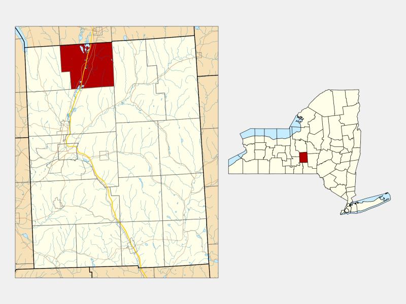 Preble location map