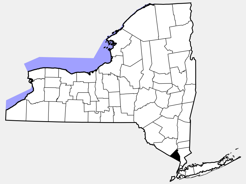 Rockland County, NY locator map