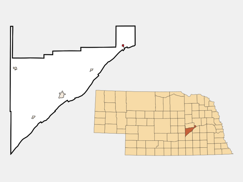 Silver Creek locator map
