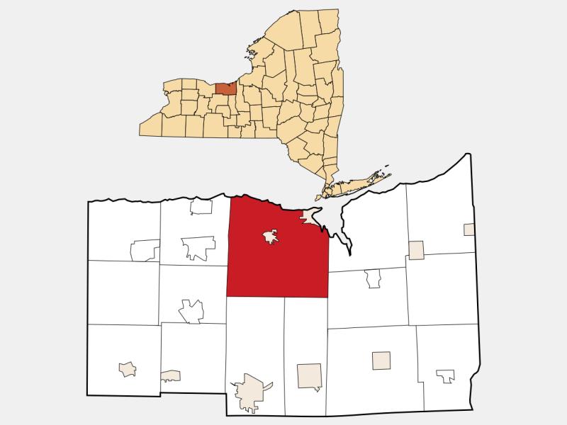 Sodus locator map