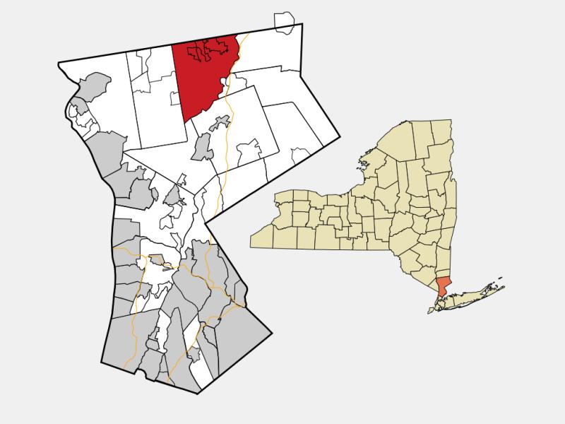 Somers, NY locator map