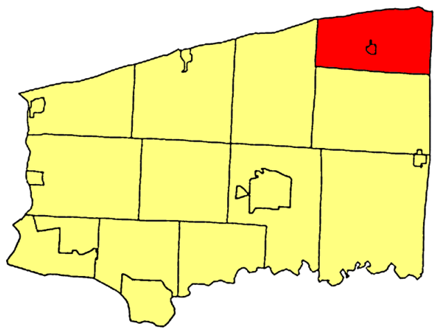 Somerset location map
