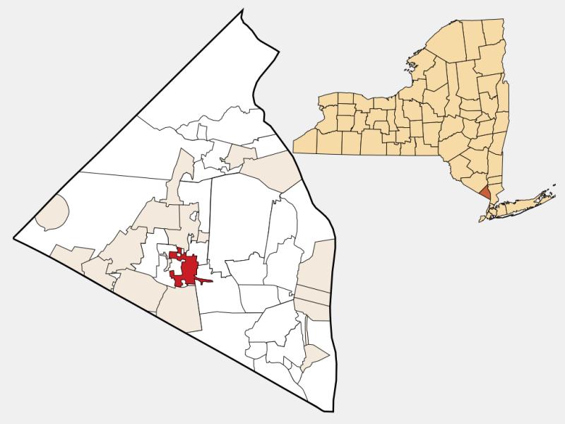 Spring Valley, NY locator map