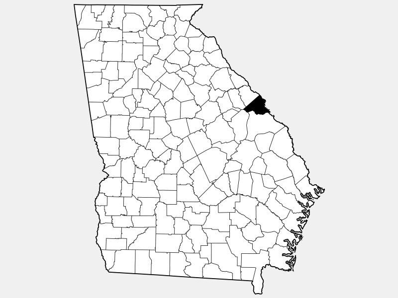 Richmond County, NY locator map