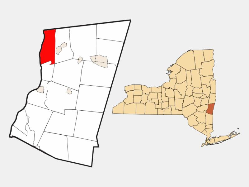 Stuyvesant locator map