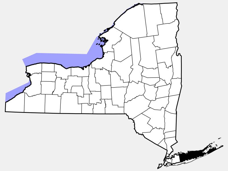 Suffolk County, NY locator map