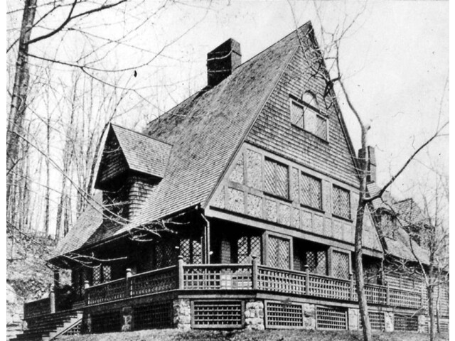 W. Chanler Cottage Tuxedo Park NY 1886 Bruce Price image