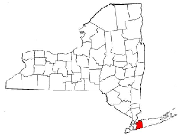 Valley Stream, NY locator map