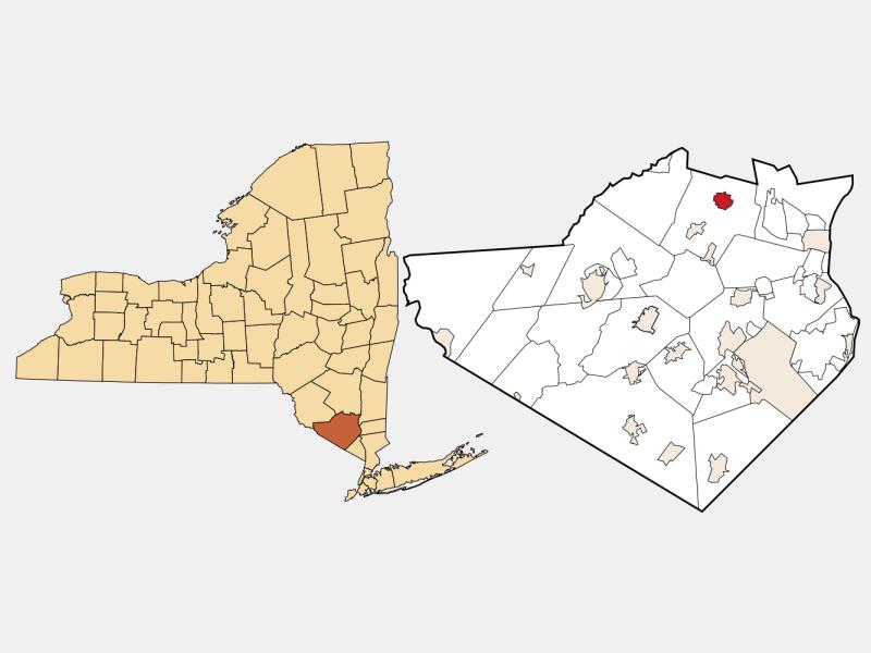 Walden location map