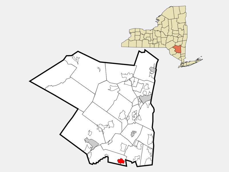 Wallkill, NY locator map