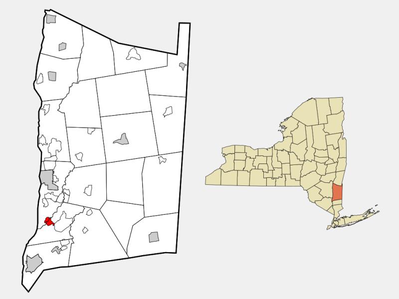 Wappingers Falls locator map