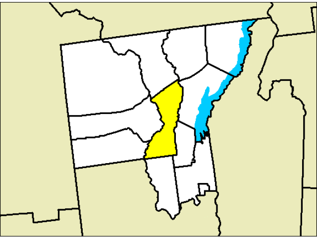 Warrensburg locator map