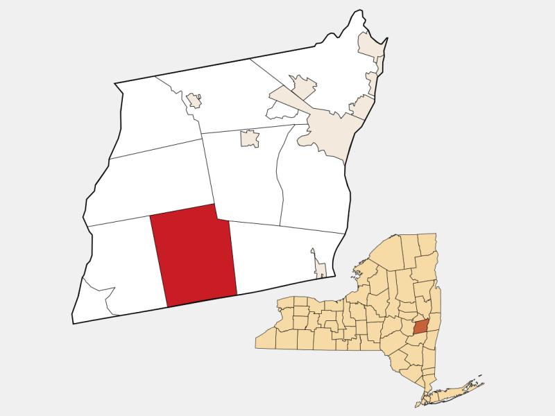 Westerlo locator map
