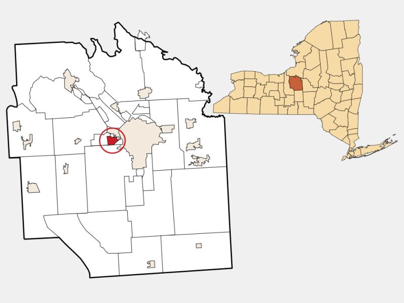 Westvale locator map