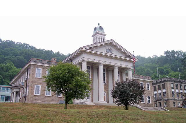 Wyoming County Courthouse West Virginia image