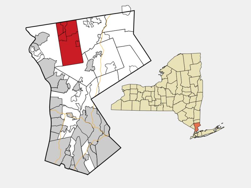 Yorktown, NY locator map