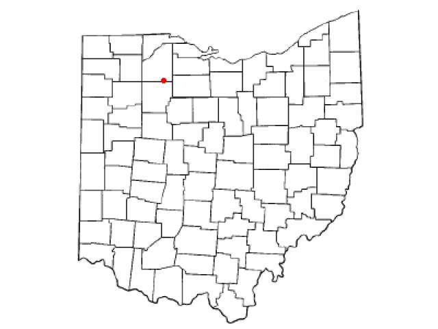 Bloomdale locator map