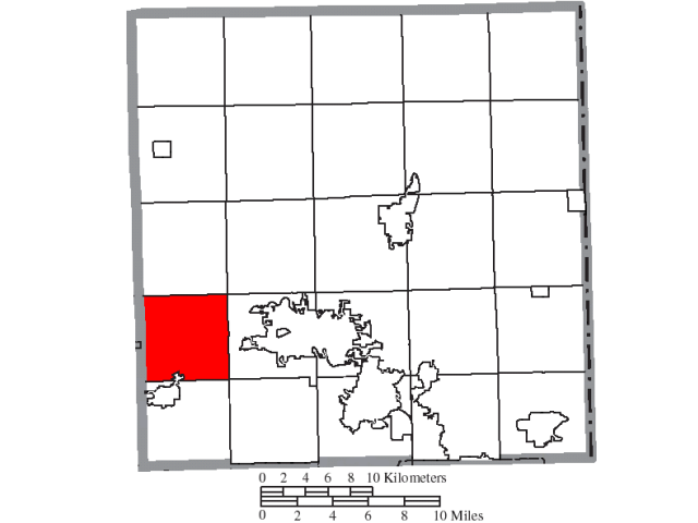 Braceville location map