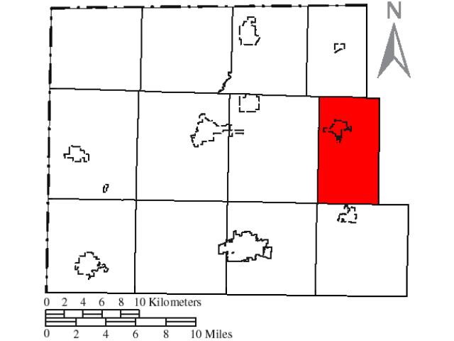 Brady location map