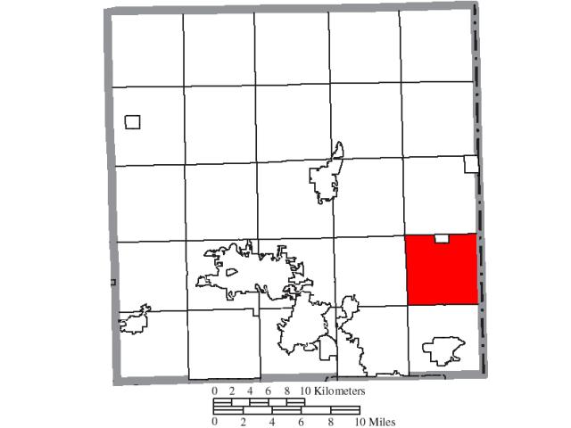 Brookfield locator map