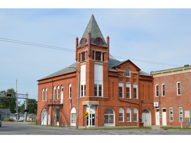Caledonia village hall from southwest image