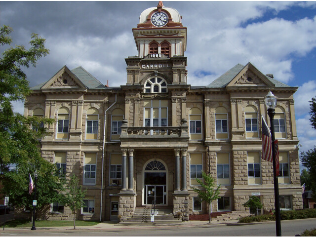 Carroll County Courthouse  Ohio image