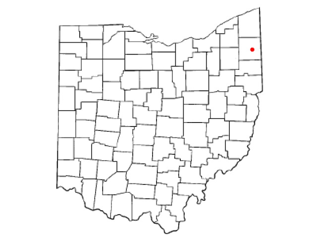 Cortland locator map